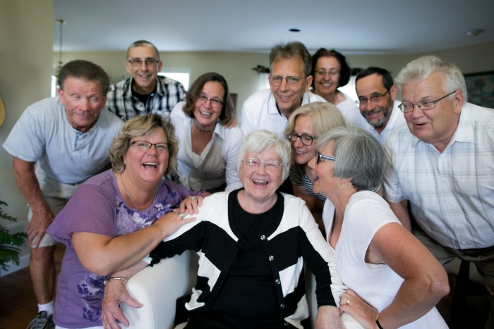 Grand daughter Joyous Snyder, photographer, encouraged us to ham it up last summer. We had a blast.