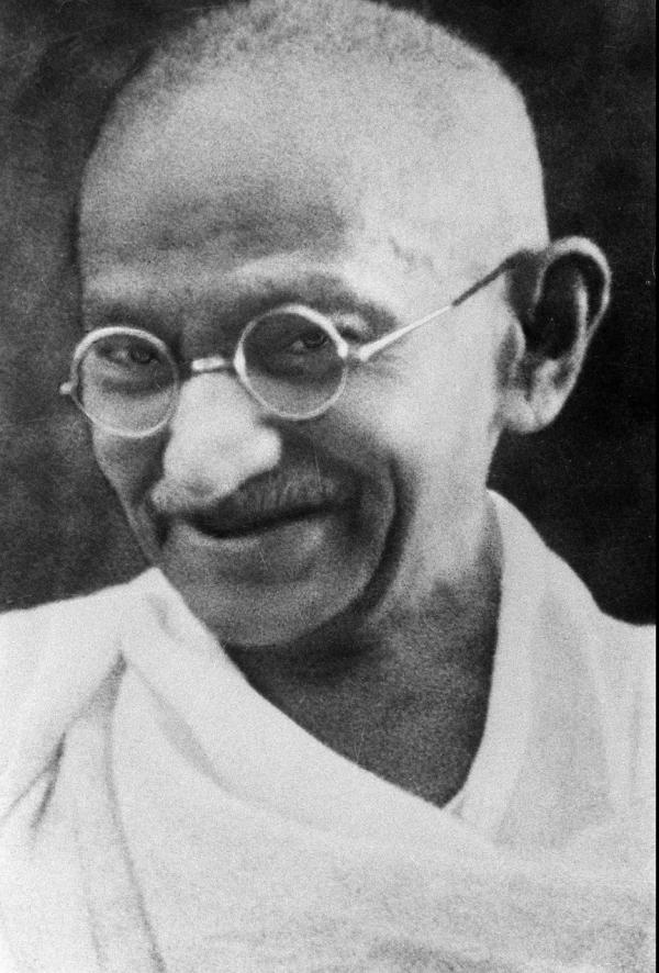 Mahatma Gandhi wikipedia image in the public domain. https://en.wikipedia.org/wiki/Mahatma_Gandhi