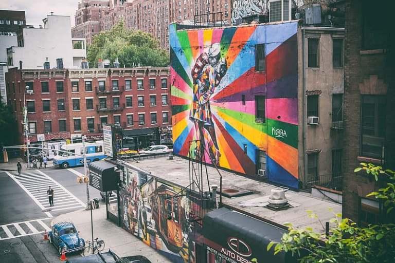 חופשה רומנטית בניו יורק - היי ליין