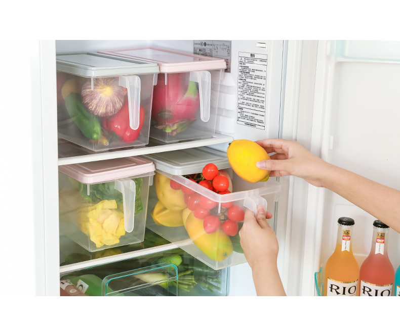 איך לסדר את המקרר - קופסאות למקרר עם ידית