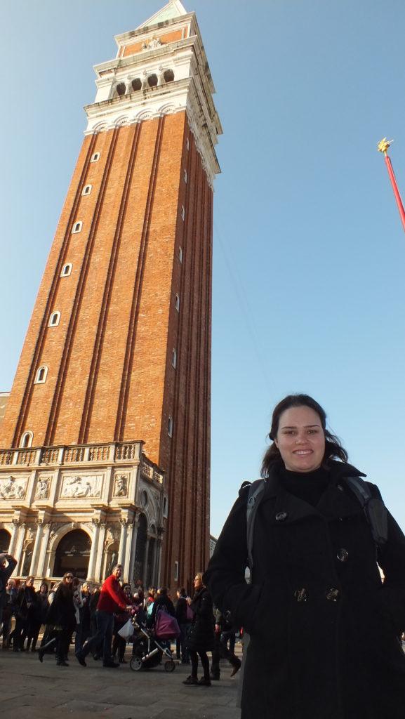 מגדל הפעמון בכיכר סן מרקו