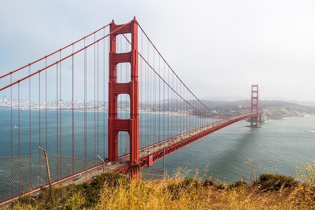 גשר הזהב - טיולים באזור סן פרנסיסקו