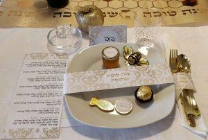 עיצוב שולחן לראש השנה - החיים לפי שירלי