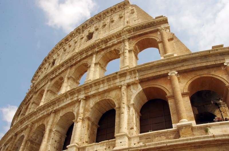 הקולוסיאום ברומא - החיים לפי שירלי