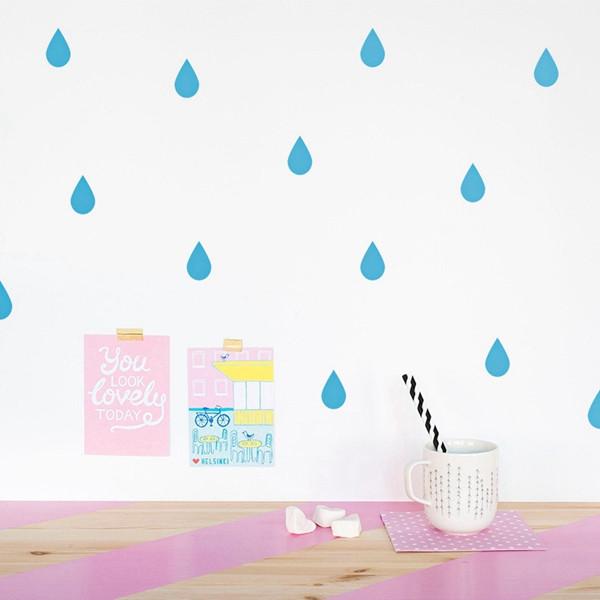 מדבקות גשם