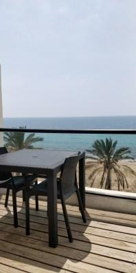 נוף מחדר במלון סי לייף