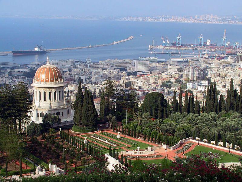 הגנים הבהאיים בחיפה