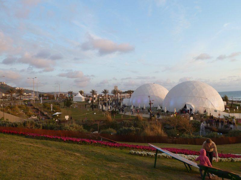 פארק הכט - מקומות רומנטיים בחיפה