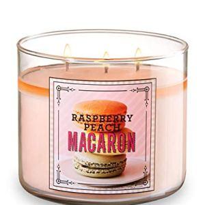 Raspberry Peach Macaron