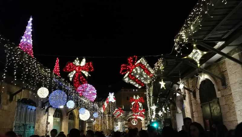 חג המולד בירושלים