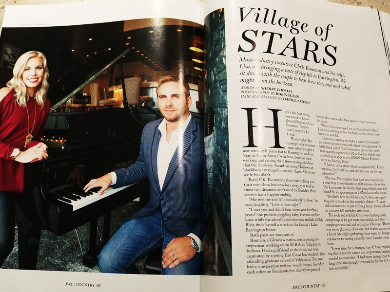 Country Magazine Features Owner & His Wife – Shirley's Piano Bar