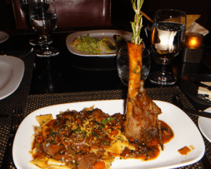 Osso Buco D'agnello at Allegro, Wynn