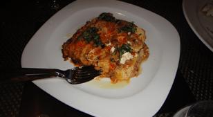 Baked Lasagna Napoletana at Allegro, Wynn