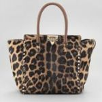 Buy Valentino Rock Stud CalfHair New Tote
