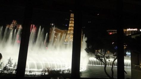 Fountains of Bellagio in Las Vegas