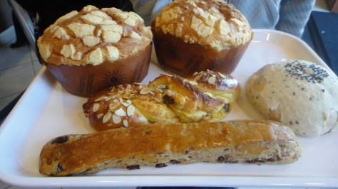 Breads from 85°C Bakery Cafe in Irvine, CA