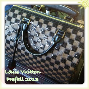 Louis Vuitton Prefall 2013 Damier Paillettes Speedy 30
