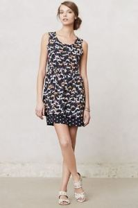 Anthropologie Petaluma Peep Hem dress