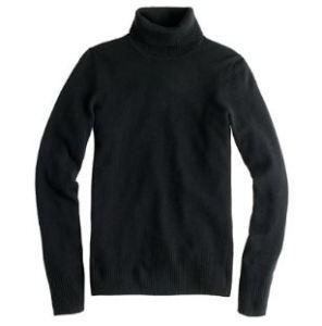 Cashmere Turtleneck Sweater by JCrew