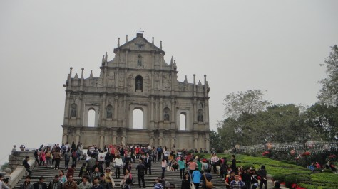 Ruins of Saint Paul's Cathedral