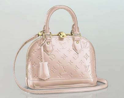 Louis Vuitton Alma BB in Rose Angelique
