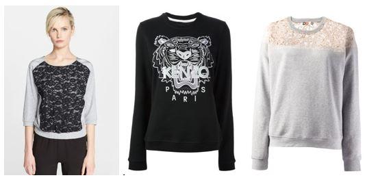More Stylish Sweatshirts