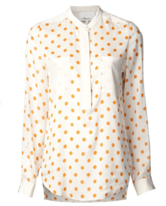 3.1 Phillip Lim's Polka Dots Blouse in bone beige