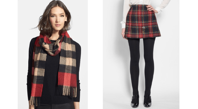 Plaid for Fall 2014