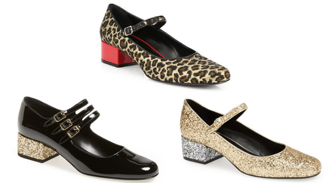 Mary Jane Pumps by Saint Lauren