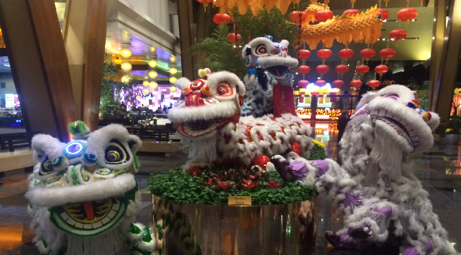 2015 Chinese New Year's in Las Vegas