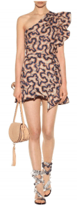 Isabel Marant Lavern Printed Cotton And Linen Dress