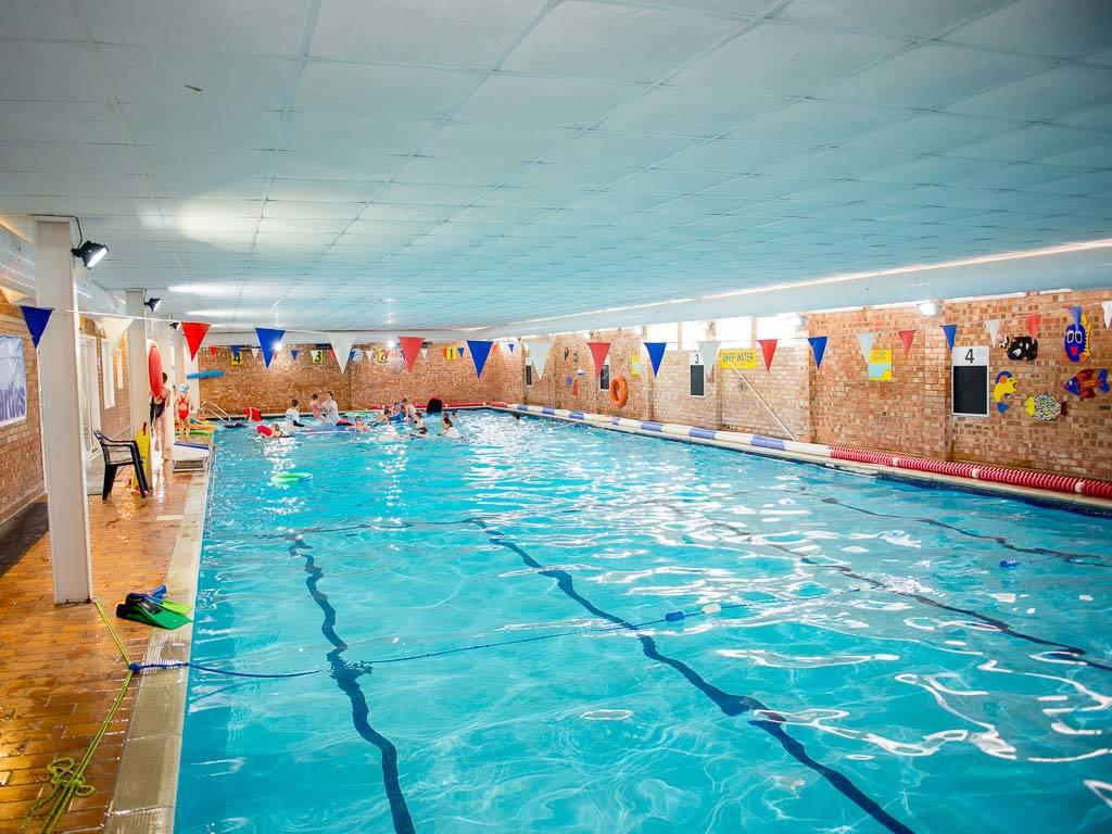 School Age Children Shirley Swimming Pool