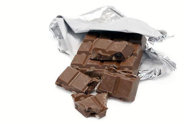 แมวห้ามกิน ช็อกโกแลต