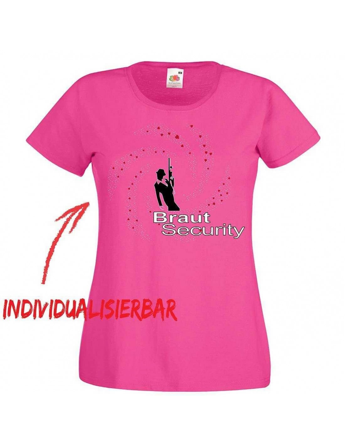 Braut Security JGA Tshirt