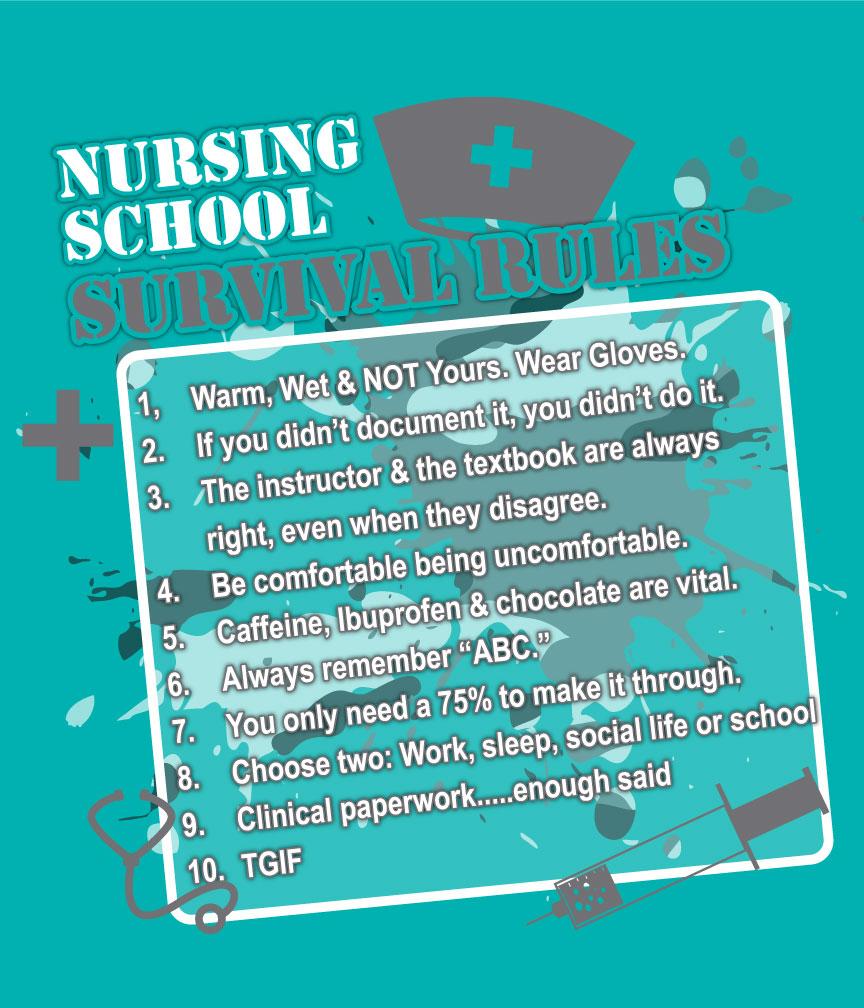 Nursing NU0002 The Shirt Shack Inc
