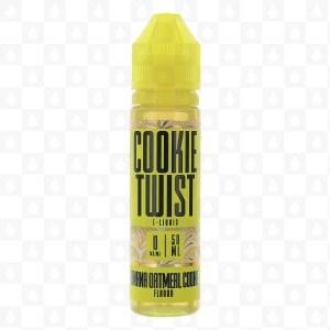 Cookie Twist Banana Oatmeal Cookie 50ml Shortfill E-liquid