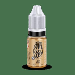 Ohm Brew Juicy PeachNic Salt E-Liquid 10ml