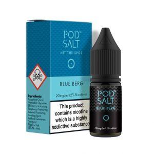 Pod Salt Blue Berg 10ml Nic Salt E-Liquid
