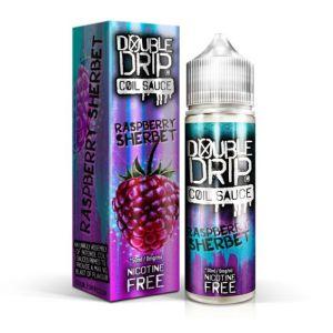 Double Drip Raspberry Sherbet 50ml Shortfill E-Liquid