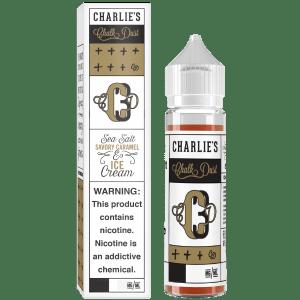 Sea Salt Caramel and Ice Cream By Charlie's Chalk Dust 50ml Shortfill E-Liquid