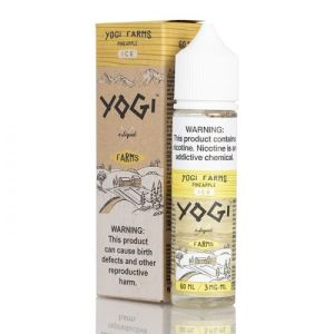 Yogi Farms Pineapple ON ICE 50ml Shortfill E-Liquid