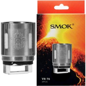Smok V8-T6 Replacement Coils