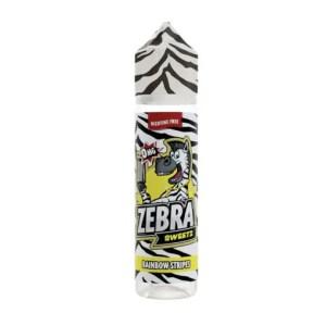 Zebra Sweetz Rainbow Stripes 50ml Shortfill E-Liquid
