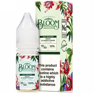 Bloom Pear Elderflower Nic Salt 10ml E-Liquid
