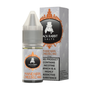 Jack Rabbit Mandarin Cheesecake 10ml Nic Salt