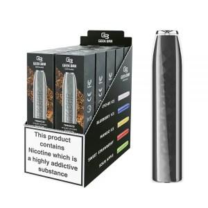 Geek Bar Tobacco Disposable Puff Bar