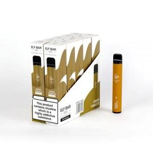 Elf Bar 600 Cream Tobacco Disposable Puff Bar 20mg