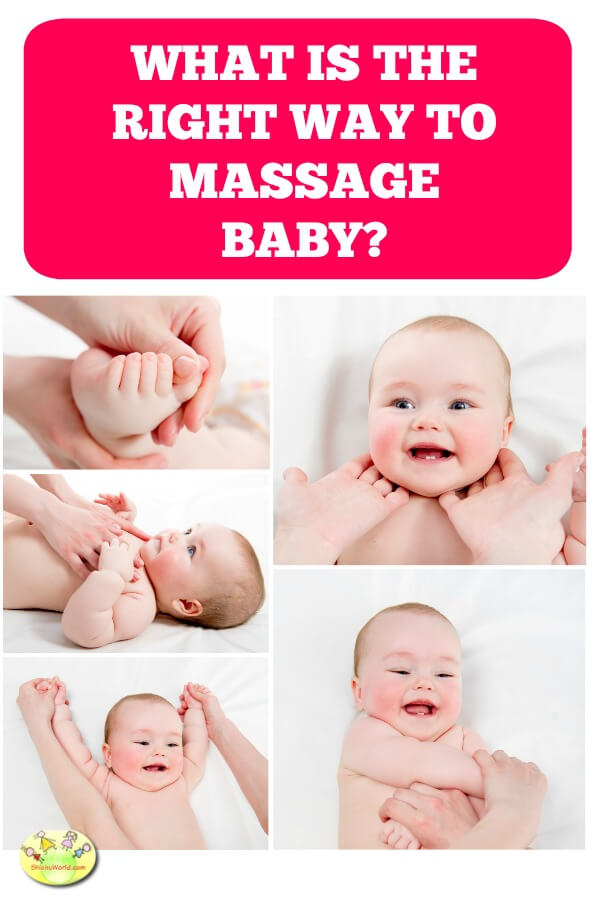right way to massage baby