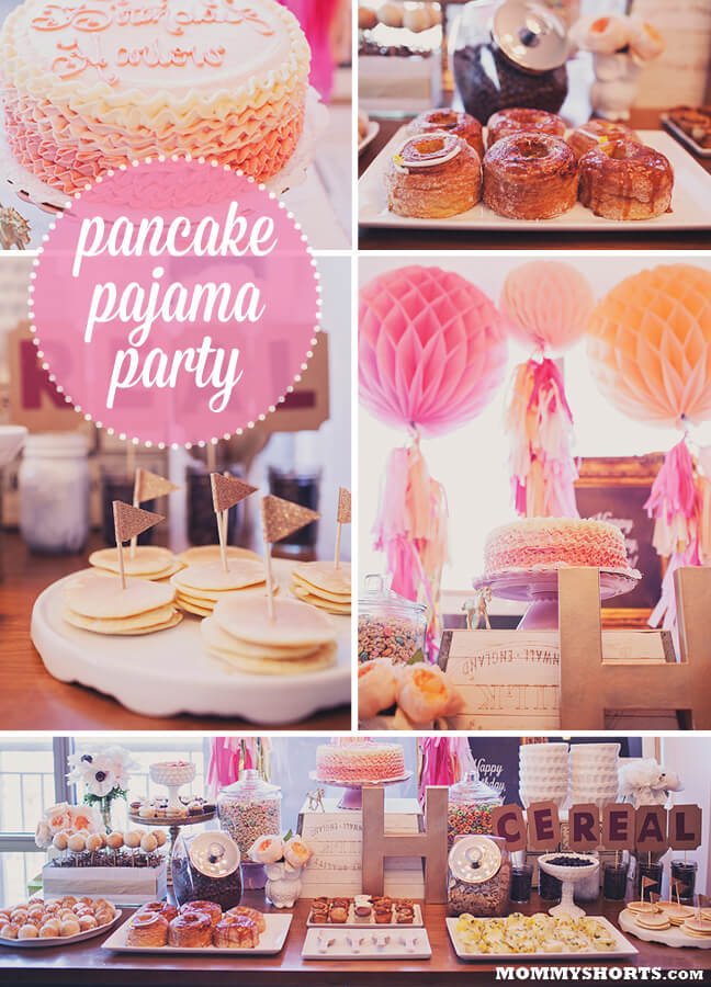 pancake-pajama party