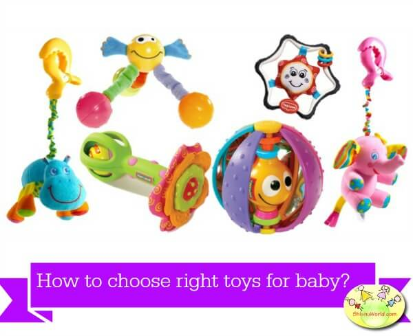 How to choose right toys for baby?